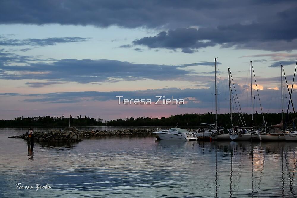 In Blue Mood by Teresa Zieba