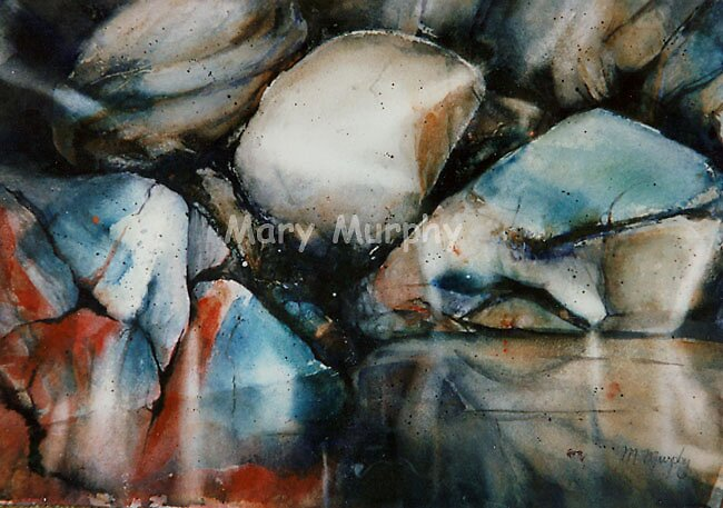 Watercolor 4 by Mary Murphy