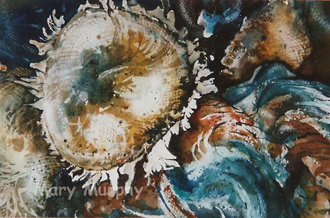 Watercolor 5 by Mary Murphy