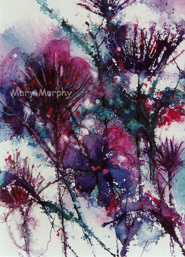 Watercolor 6 by Mary Murphy
