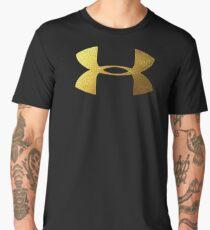 Underarmour gold Men's Premium T-Shirt