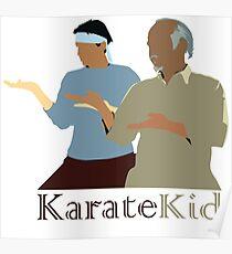 Karate Kid - Mr Miyagi  Poster