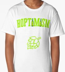 Best Selling Hoptimist with A Hoptimism Craft Beer Long T-Shirt