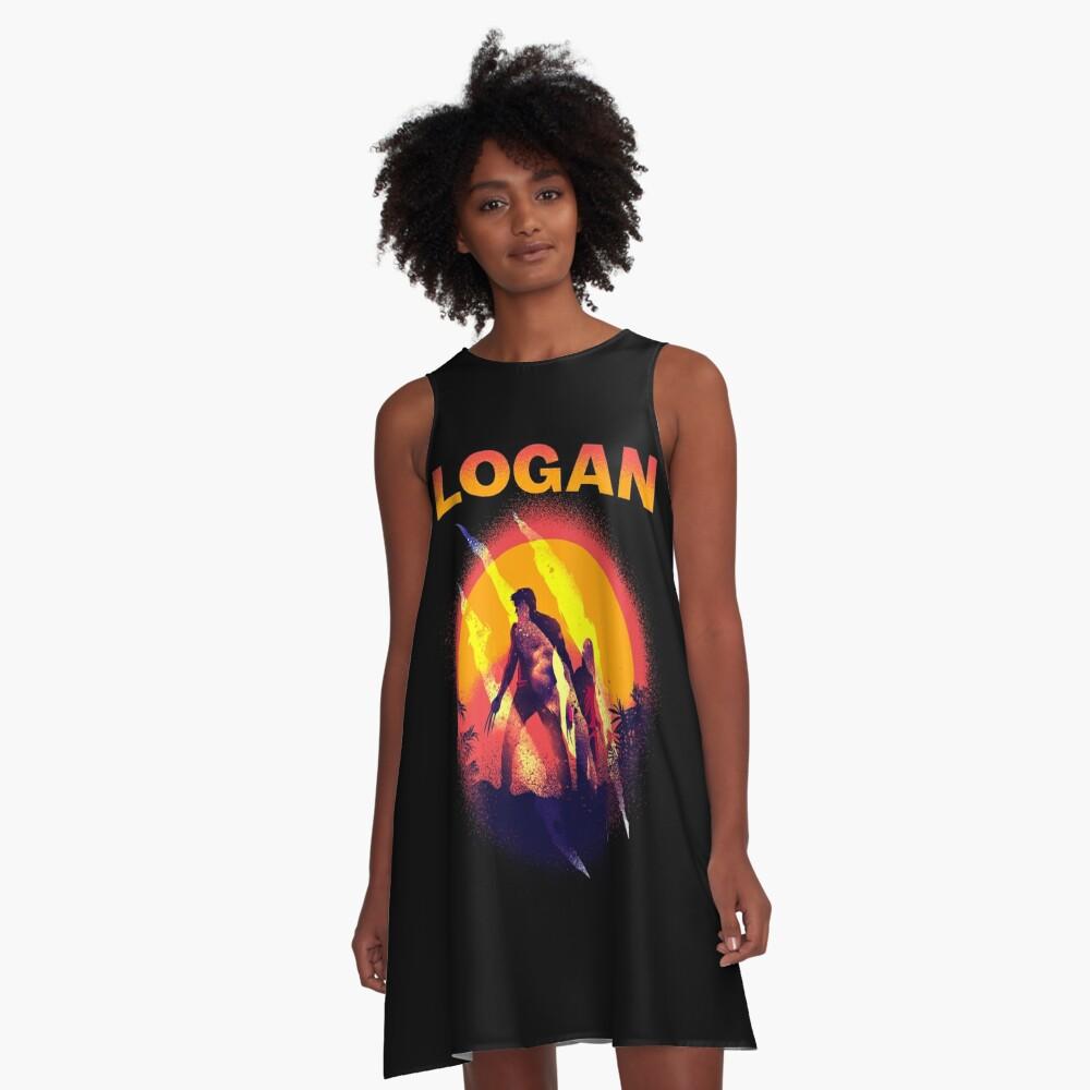 LOGAN A-Line Dress