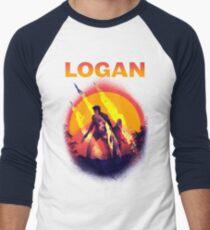 LOGAN Men's Baseball ¾ T-Shirt