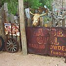 Route 66 Artifacts by Frank Romeo