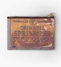 Sprinkler Stop Valve Sign Studio Pouch