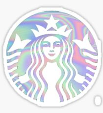 Starbucks Iridescent  Sticker