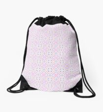 Pastel Pattern Drawstring Bag