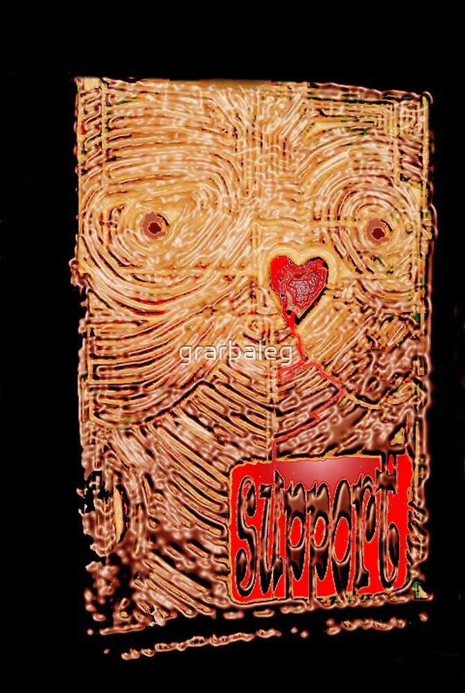 Bleeding heart bloodly support by grarbaleg