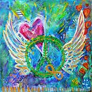 LOVE, PEACE AND UNITY by Karen Cougan