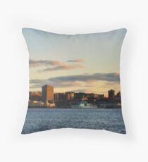 Halifax from Dartmouth Throw Pillow
