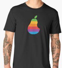 Pear Apple Parody Funny Retro Men's Premium T-Shirt