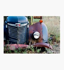 Fender & Grill Photographic Print