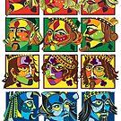 VIZAĜO Jacks, Queens & Kings by Annette Abolins