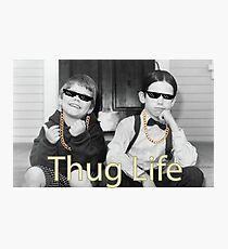 Little Rascals - Thug Life Photographic Print