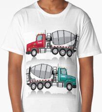 Cement mixer Long T-Shirt