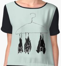 fruitbats in the closet Chiffon Top
