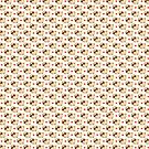 Puglie Heart Pattern by Puglie  Pug