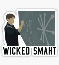 Good Will Hunting - Wicked Smaht Sticker