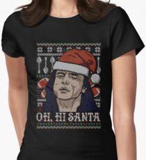 Oh Hi Santa Women's Fitted T-Shirt
