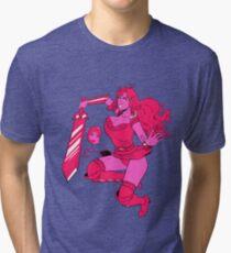 Lusty Attack - Multicolour Tri-blend T-Shirt