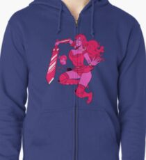 Lusty Attack - Multicolour Zipped Hoodie