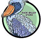 Threatened Shoe-billed stork by dragongirl222