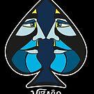 Ace of Spades - VIZAĜO by Annette Abolins