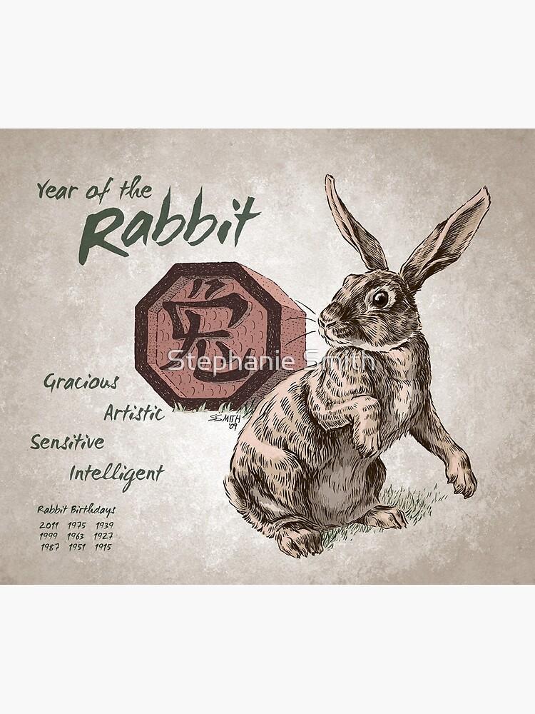 Year of the Rabbit Calendar (white) by stephsmith