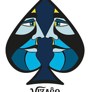 VIZAĜO - Ace of Spades  by Frejasphere