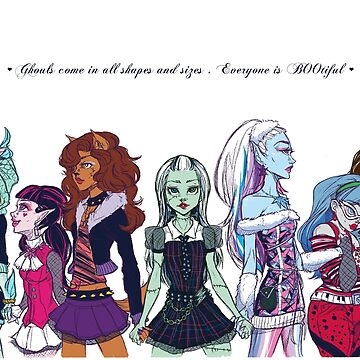 Monster High - Bootiful Ghouls by Poofette