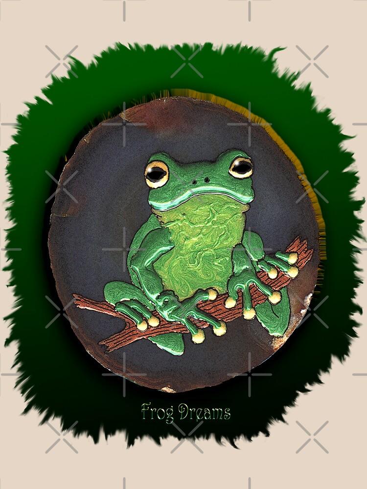 """""""Frog Dreams"""" by RavenPrints"""