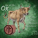 Year of the Ox Calendar by Stephanie Smith