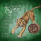 Year of the Tiger Calendar by Stephanie Smith