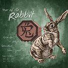 Year of the Rabbit Calendar by Stephanie Smith