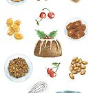 Christmas Pudding by Amanda Francey