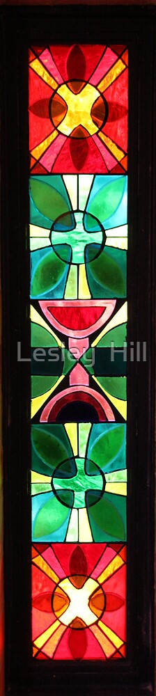 Chapel Window. by Lesley  Hill