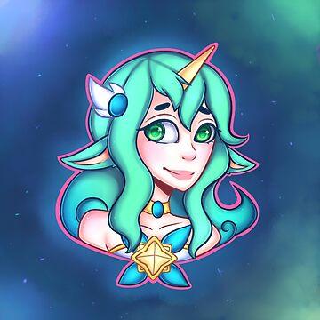 Star Guardian Soraka by pinipy