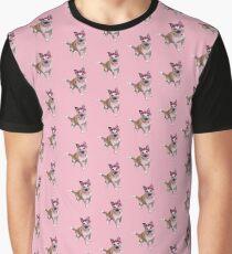 WInnie the Bear Dog Graphic T-Shirt
