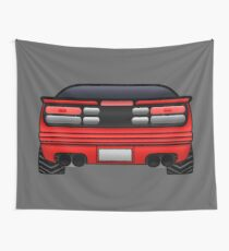 300zx [Z32] - Red Wall Tapestry