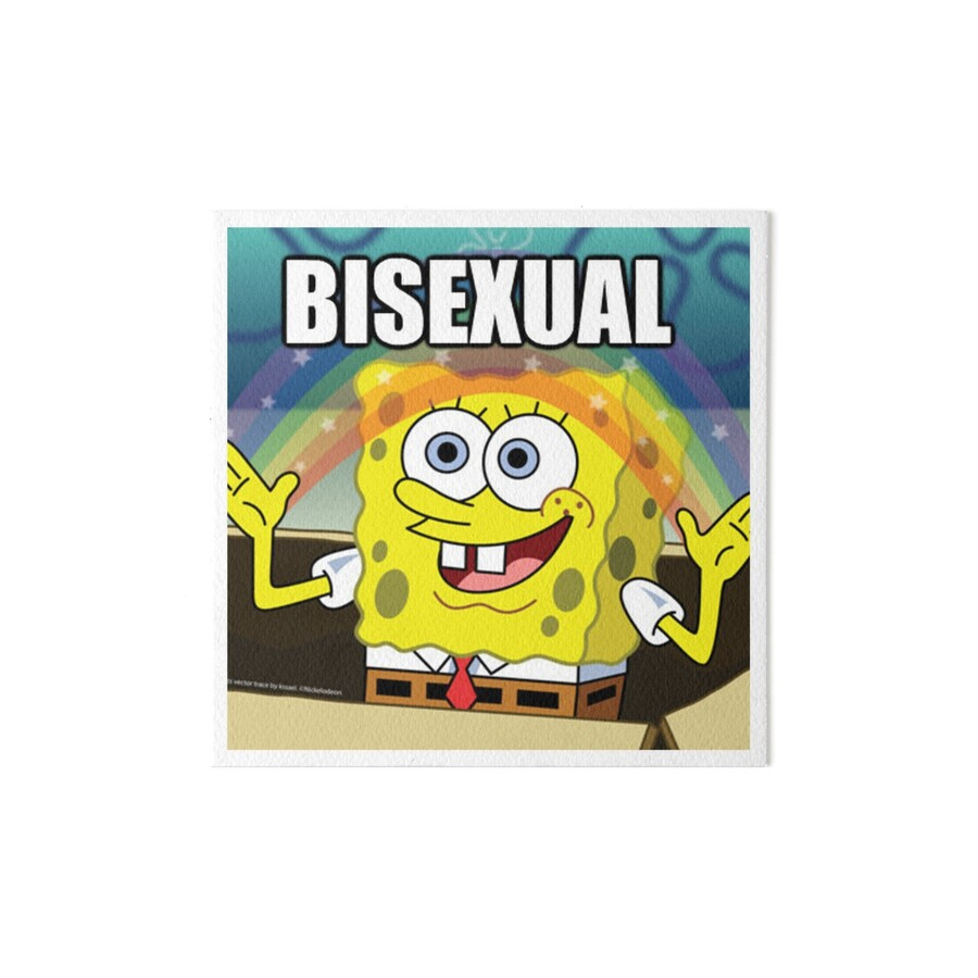 SPONGEBOB SQUAREPANTS BISEXUAL RAINBOW MEME!\