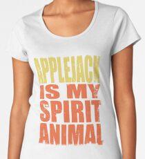 Applejack is my Spirit Animal Women's Premium T-Shirt