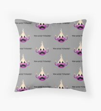 WHO DOES TURNIPS?! Floor Pillow