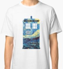 Camiseta clásica TARDIS de Van Gogh