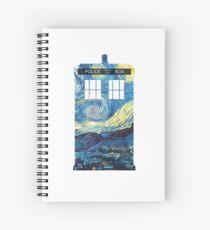 Van Goghs TARDIS Spiralblock