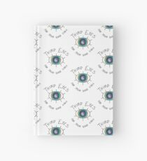 Third Eyes For Your Good Vibes  Hardcover Journal