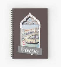 Venice Venezia city Italia Spiral Notebook