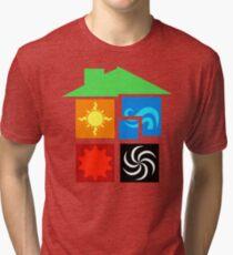 Homestuck SBURB - Beta Tri-blend T-Shirt