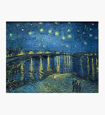 Starry Night Over the Rhône by Vincent van Gogh Photographic Print
